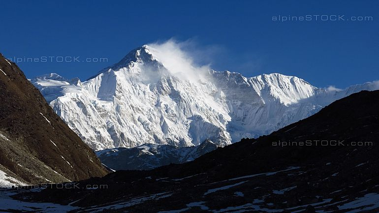 Majestic mountain Cho Oyu