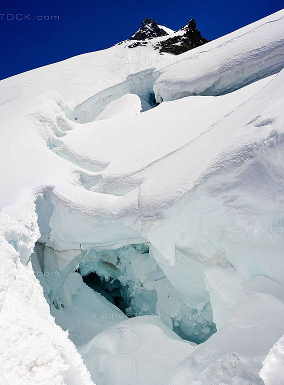 Big Crevasse la Jonction Grands Mulets