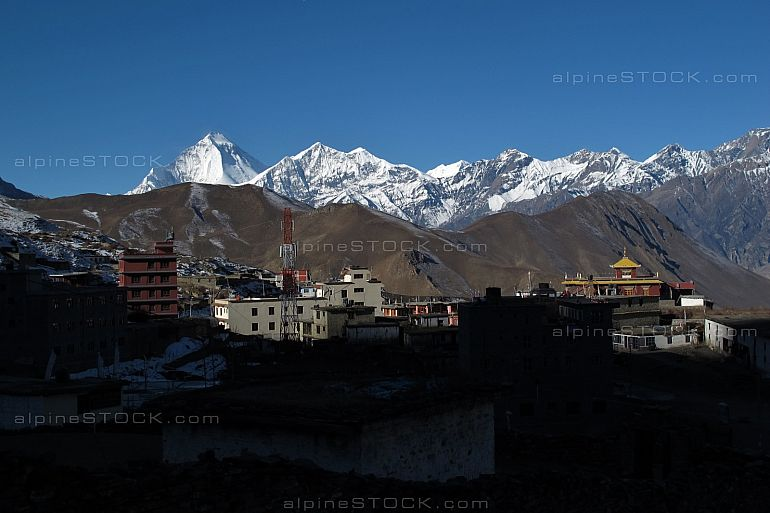 Early morning in Muktinath, Nepal