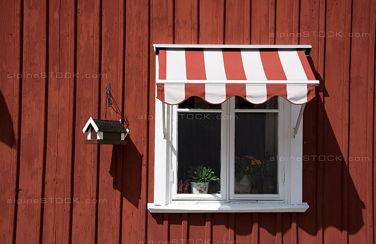 Window at Gaevle, Sweden