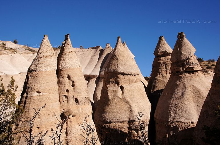 Tent Rocks in the Kasha-Katuwe National Monument, USA