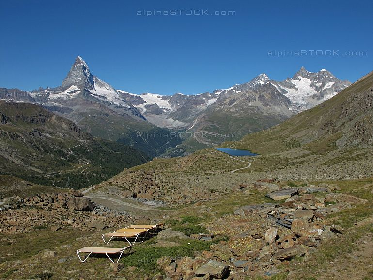 Quiet Time In Zermatt Findelalp Stellisee