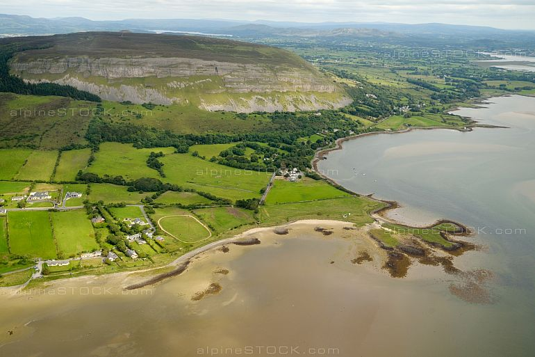 Knocknarea Mountain Aerial View ireland Sligo