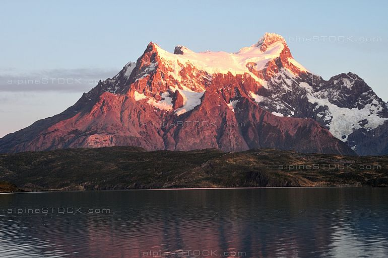 morning at Lago Pehoe, Torres del Paine national park, Chile