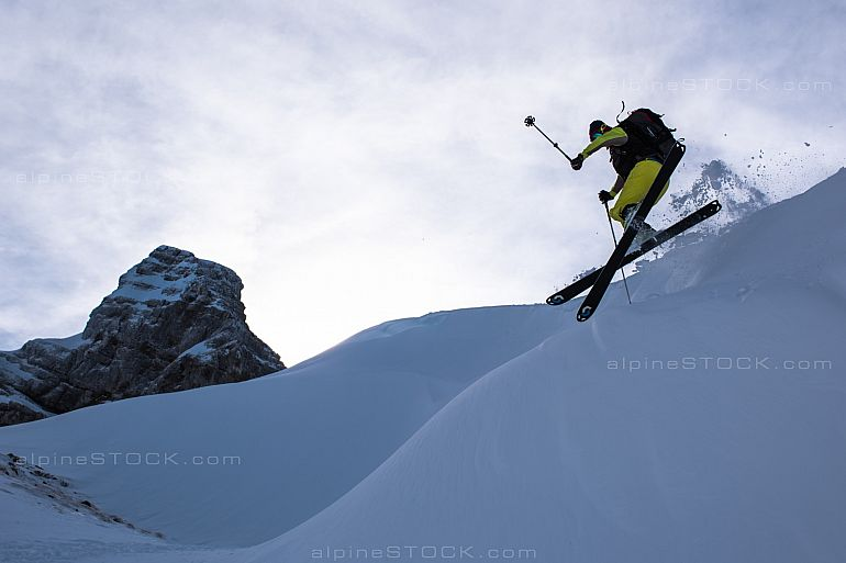 freeriding at the Mutteristock