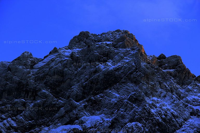 Night in the Mountains of Logarska Valley