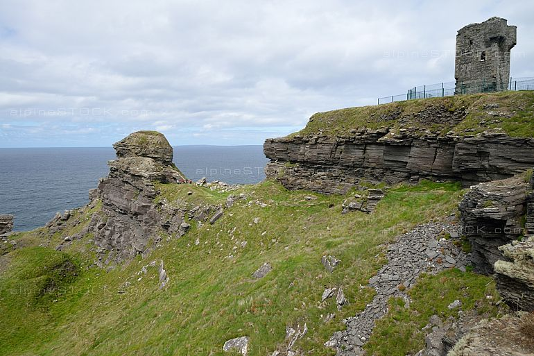 Moher Fort Side Telegraph Station Cliffs of Moher Ireland Hags H
