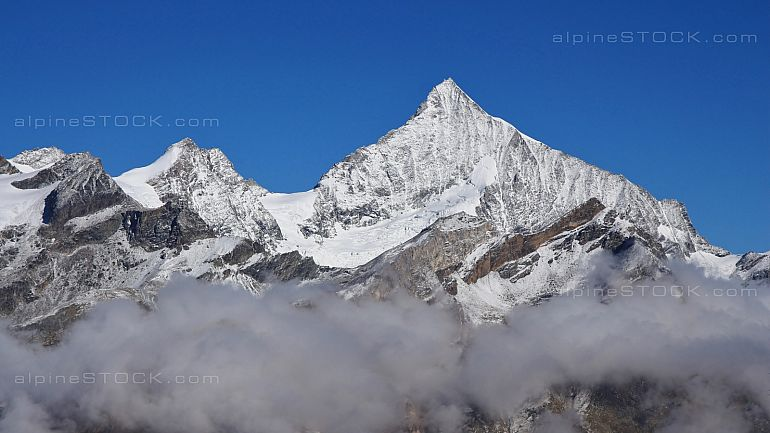 Weisshorn on a autumn day