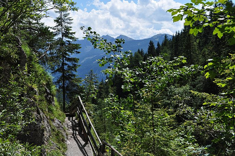 South View at the Silberkarklamm, Styria, Austria