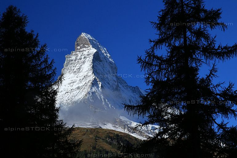 First glimpse of the Matterhorn