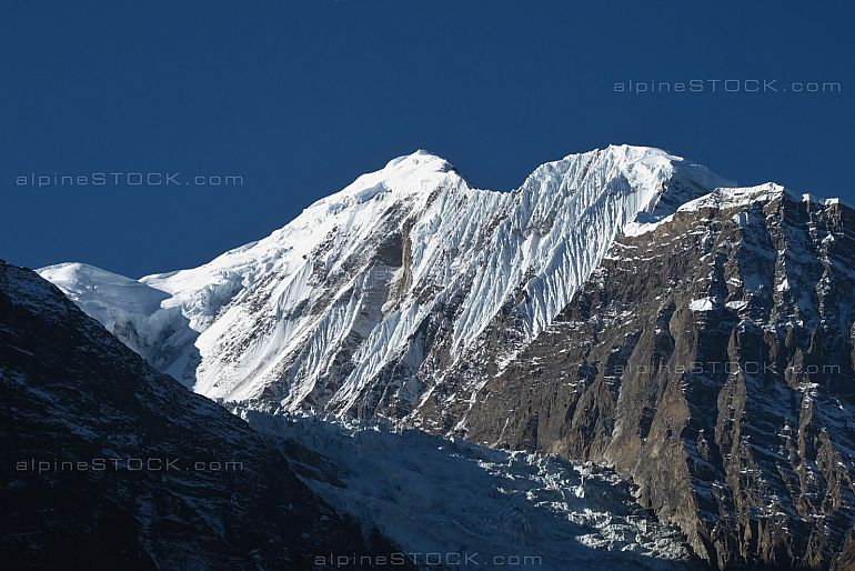 Gangapurna, high mountain of the Annapurna Range