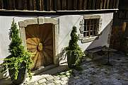 Old Door in Hallstatt