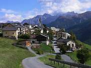 Dorf Guarda Engadin
