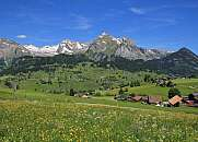Springtime in the Toggenburg valley