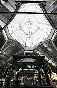 The metal structure of San Telmo market