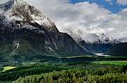 Romsdalen a mountainous region in Norway