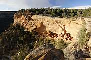 Navajo Canyon at Mesa Verde National Park Colorado USA