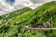 Road in the Pyrenees mountains