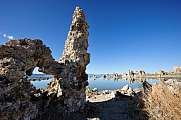 Mono Lake Tufa Rock Formations Stone Arch