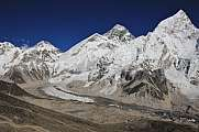 Mount Khumbutse, Everest and Nuptse