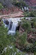 Supai Reservation Upper and Lower New Navajo Falls