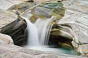 Flowing water river Verzasca LE