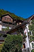 Old houses in World Heritage City Hallstatt