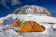 Mt Olympus Greece and tents