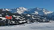View from the Eggli ski area Gstaad