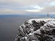 Nordkapp im Winter, Norwegen