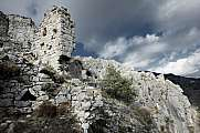 Rocca Sparviera ghost village  alpes maritimes single wall