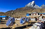 Solar cookers and Tabuche Peak