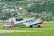 Beechcraft 3NM after Display Locarno N21FS