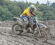Cross Biker in the mud