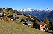Riederalp in autumn