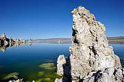 Mono Lake Tufa Rock Formations mirroring