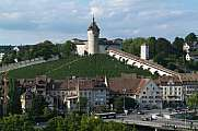 Munot fortress and old town of Schaffhausen