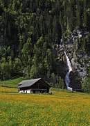 Spring scene in the Kloental valley