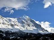 Eiger seen from Grindelwald