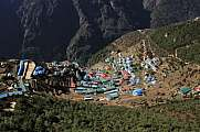 Namche Bazar, village in the Everest National Park