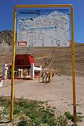 Chair lift of Los Penitentes Argentina