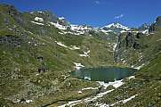 Berghütte Cabane de Louvie am Louvie See