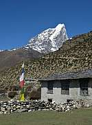 Scene in Dingboche
