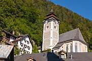 Catholic church in Hallstatt