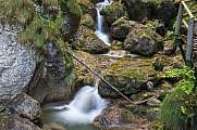 Waterfall and moss Mixnitz Styria