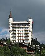 Palace famous hotel in Gstaad