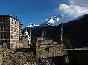 Manang Annapurna Conservation Area Stupa