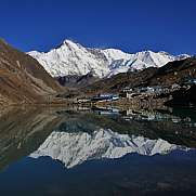 Morning in Gokyo