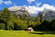 Camping in Cochamo national park, Patagonia