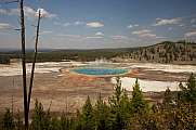 Grand Prismatic Pool, Yellowstone Nationalpark, USA